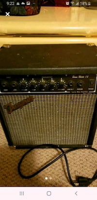black and gray guitar amplifier Surrey, V3T 1P1