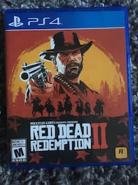 Red dead redemption ps4 game  Langley, V2Y 3E2