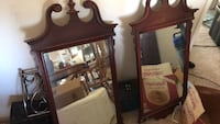 brown wooden framed mirror with mirror Owings Mills, 21117