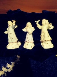 Angel candle stick holders with box!!