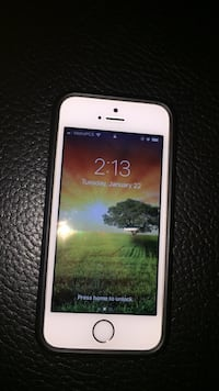 White iphone 5 with black case Waco, 76657
