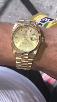 Day Date 36mm Never Polished With Orig Box *2 PICS FROM WEBSITE TO COMPARE PRICE* New York, 10039