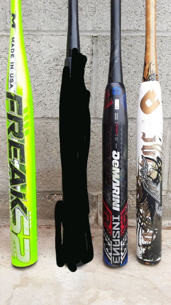 Used ASA Slowpitch softball bats- used for sale in Lancaster - letgo