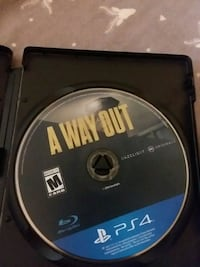 A way out ps4 game Ellabell, 31308
