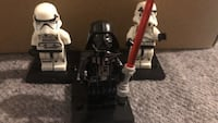 Darth Vador and stormtroopers custom minifigures
