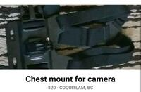 Chest mount for camera