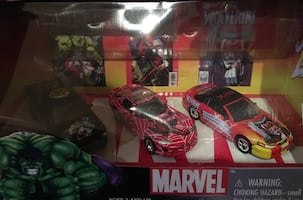 Marvel Comics - die-cast cars