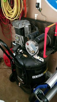 CENTRAL PNEUMATIC AIR COMPRESSOR White Lake charter Township