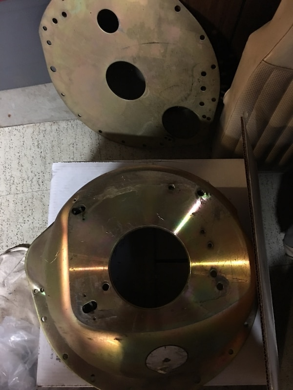 McLeod small block ford bell housing