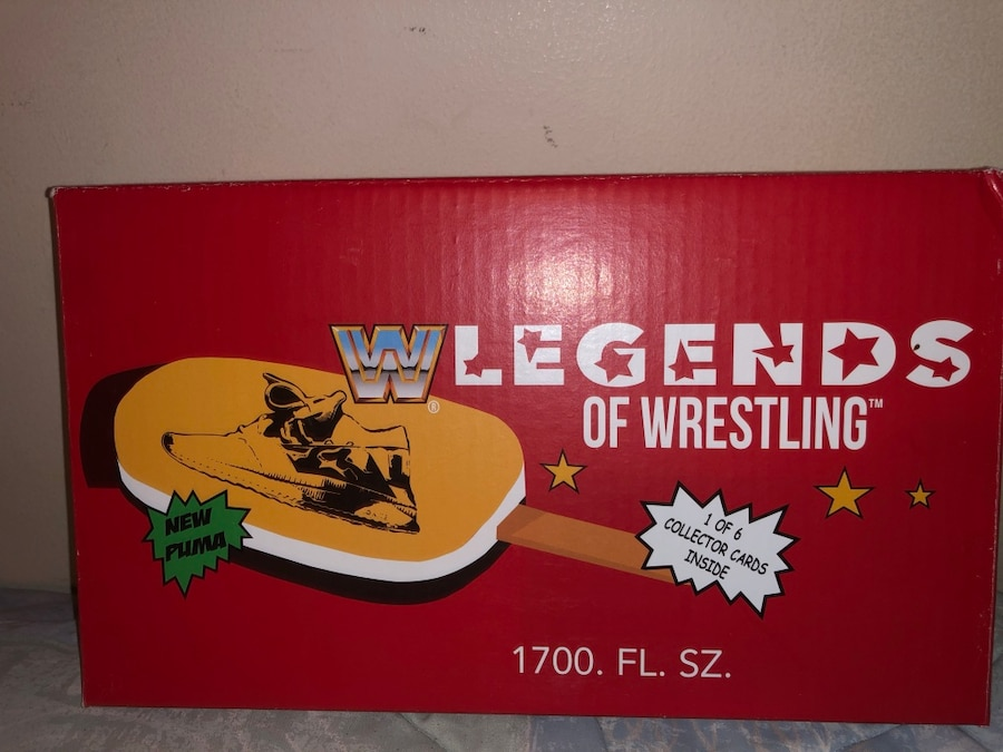 Puma WWE Foot Locker Exclusive Legends of Wrestling Ice Cream