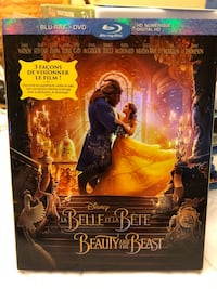 Disney Beauty and the Beast Bluray DVD  Dollard-des-Ormeaux, H9B 2N2