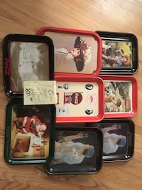 8 Coca Cola Tray $10 each OR All $60 Hollidaysburg, 16648
