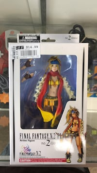 Play Arts Final Fantasy X-2 Rikku Figure Orland Park, 60462