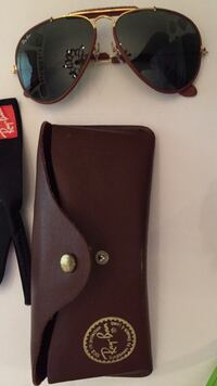 Vintage Authentic  leathers by Ray Ban Auburn, 13021