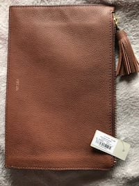 Fossil leather pouch  Norfolk, 23518