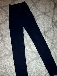 Size 1 dark denim high wasted Jean's  Nanaimo, V9S 4T9