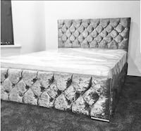 King size bed luxurious %100