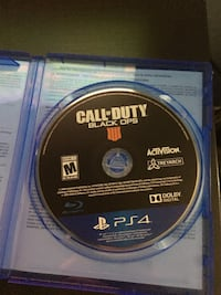 Call of Duty Advanced Warfare PS4 game case Mississauga, L5L