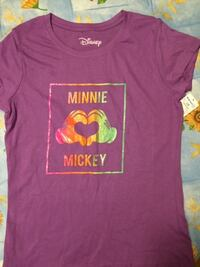 girls size large mickey and minnie tshirt new with tags  Toronto