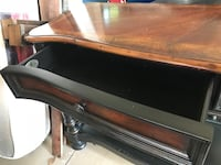 black and brown wooden table Oklahoma City, 73013