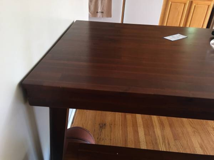 Mahogany Wood Dining Room Table Seats 6 8 In San