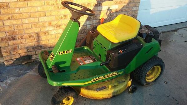 John Deere Lawn Mowers For Sale >> John Deere Lawn Mower Gx85