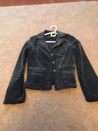 Women's clothing jacket size small by guess