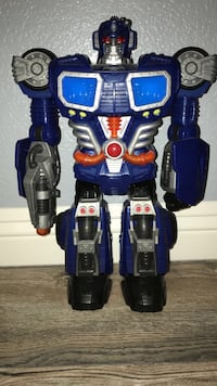 Blue Collectible Transformer Las Vegas