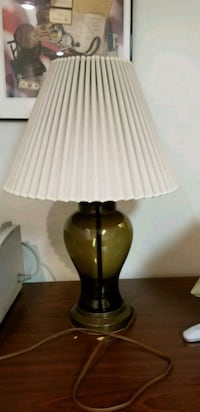 black and brown table lamp College Park, 20740