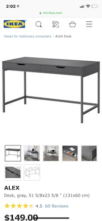 IKEA Alex Desk Ajax, L1T 4T4