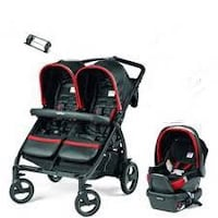 Peg-prego book for two doubles stroller  Toronto, M2M 3R7