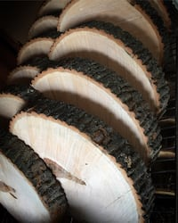 Wood rounds / Rustic Centerpieces Toronto, M9B 4S8