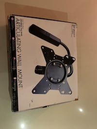 Vantage point Articulating wall mount Brand new still in box/packaging Toronto, M3H 3C1