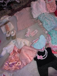 Baby Girl Clothes (0-3) -selling separate or bundles