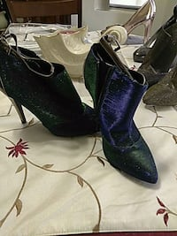 Blue and green sparkle boots Las Vegas, 89128