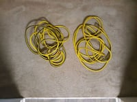 red and yellow coated cable Columbia
