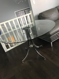 Finesse glass modern dining table