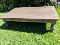 rectangular brown wooden coffee table Huntington Beach, 92646