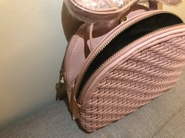 Rose Woven Clutch from Anthropologie (NEW)