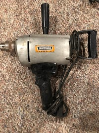Craftsman Commercial corded drill ... old school and works great Hermitage, 16148