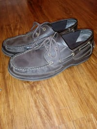 Men's size 12 brown leather shoes Columbus, 43212