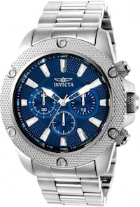 Men's Invicta Pro Diver Quartz Watch with Stainless-Steel Strap,Silver