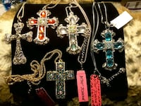 Necklaces of Crosses by BetseyJohnson 10$-12$ Ladson, 29456