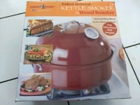 Kettle Smoker -  NEW- Made in USA Alhambra