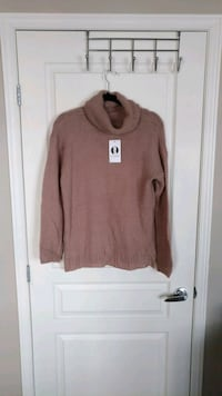 NWT Knit Cowl Neck Sweater/ Chandail Tricot