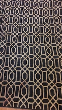 black and white area rug Germantown, 20874