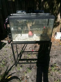Tank with stand .lid.and pumps Fort Pierce, 34950