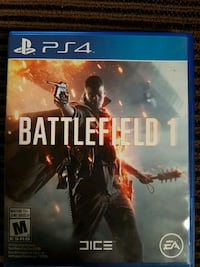 Battlefield 1 for Ps4 $15  Edmonton, T5Z 1W5