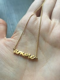 Amore Gold Necklace Mississauga, L5A 4G6