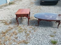 two brown wooden side tables Telford, 37690